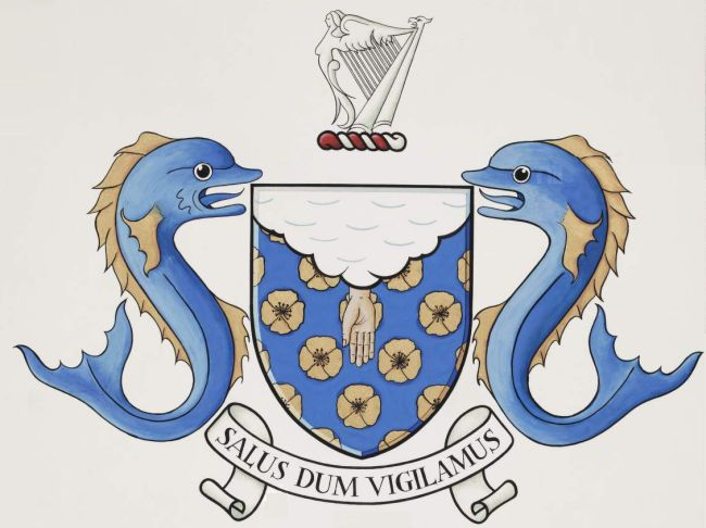 Arms of College of Anaesthetists of Ireland