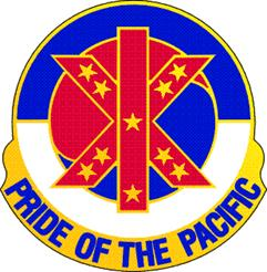 Arms of IX Corps, US Army