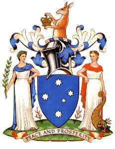 Arms of Victoria (state)