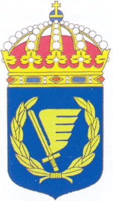 Coat of arms (crest) of the Army Flying School, Swedish Army