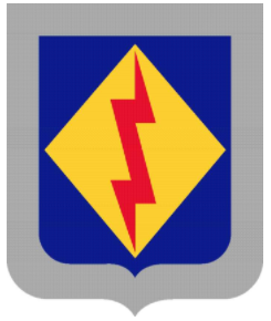 Coat of arms (crest) of the 125th Finance Battalion, US Army