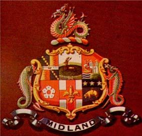 Arms of Midland Railway