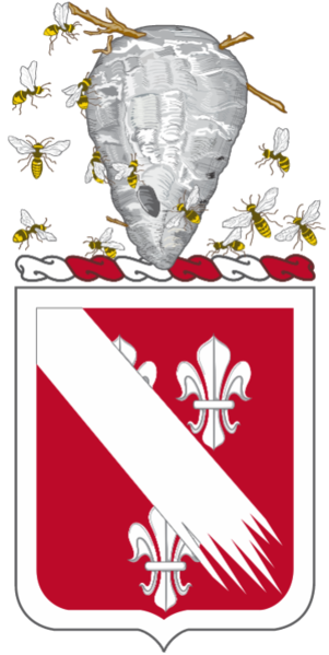 Coat of arms (crest) of the 105th Engineer Battalion, North Carolina Army National Guard