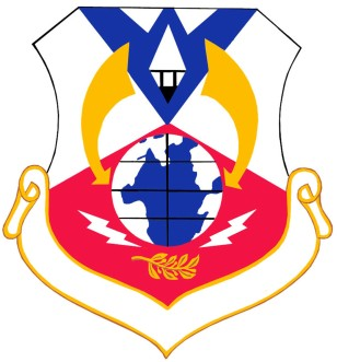 Coat of arms (crest) of the 6th Air Division, US Air Force