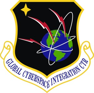 Coat of arms (crest) of the Air Force Global Cyberspace Integration Center, US Air Force