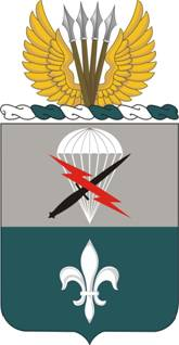 Coat of arms (crest) of the Special Troops Battalion, 82nd Airborne Division, US Army