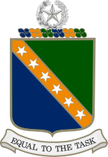 Coat of arms (crest) of the Texas State Guard Headquarters