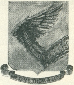 Coat of arms (crest) of the 316th Service Group, USAAF