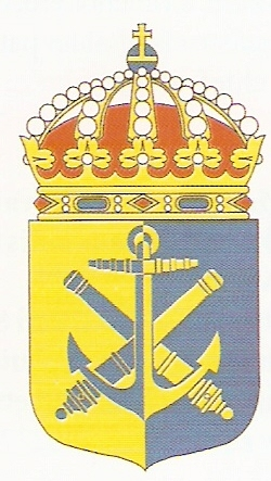 Coat of arms (crest) of the East Coast Naval Base, Swedish Navy