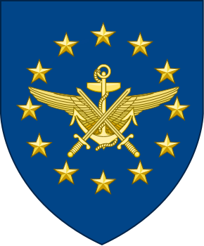 Coat of arms (crest) of the European Union Military Staff