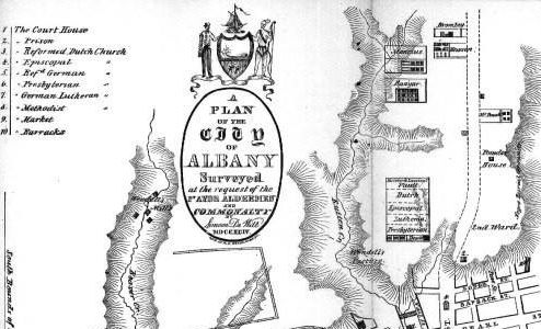 Arms (crest) of Albany