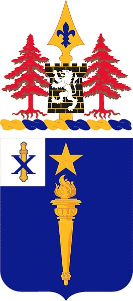 Coat of arms (crest) of the 46th Infantry Regiment, US Army