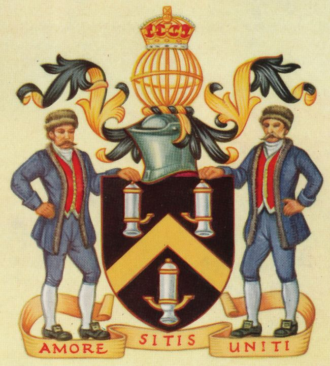 Arms of Worshipful Company of Tin Plate Workers
