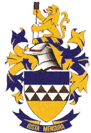 Arms of South African Council of Professional and Technical Surveyors