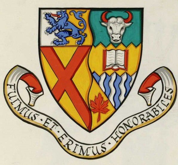Arms (crest) of Lord Elgin vocational school