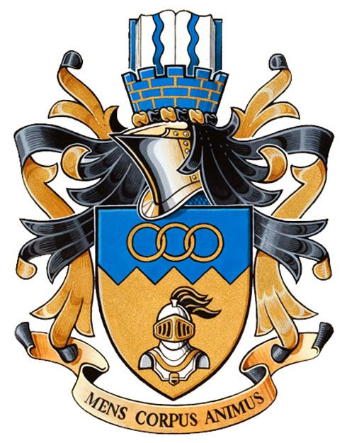 Arms (crest) of Balmoral junior secondary school