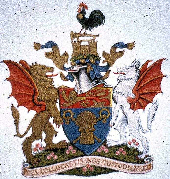 Arms of Chester, Wrexham and North Wales Savings Bank