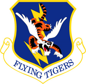 Coat of arms (crest) of the 23rd Wing, US Air Force
