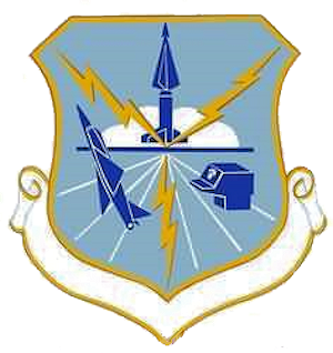 Coat of arms (crest) of the Chicago Air Defense Sector, US Air Force