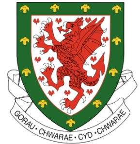 Arms of Football Association of Wales