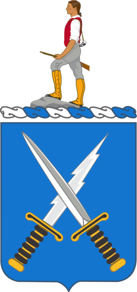 Arms of 301st Military Intelligence Battalion, US Army