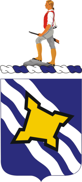 Arms of 390th (Infantry) Regiment, US Army