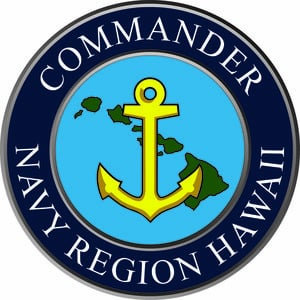 Coat of arms (crest) of the Navy Region Hawaii, US Navy