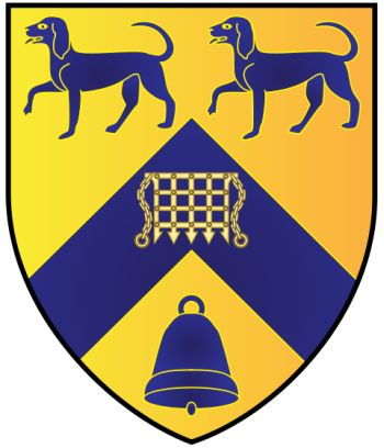 Arms of Lady Margaret Hall (Oxford University)