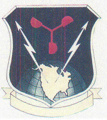 Coat of arms (crest) of the 3rd Weather Group, US Air Force