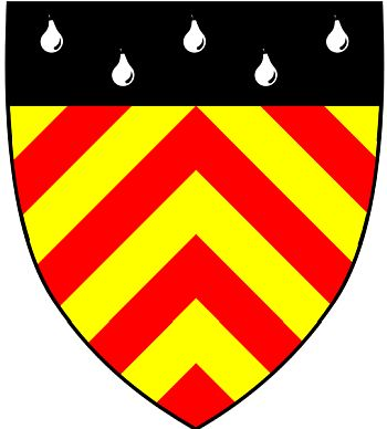 Arms (crest) of Clare Hall College (Cambridge University)