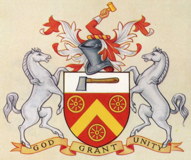 Arms of Worshipful Company of Wheelwrights