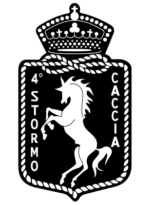 Coat of arms (crest) of the 4th Wing Amadeo d'Aosta, Italian Air Force