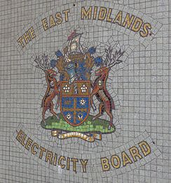 Arms of East Midlands Electricity Board