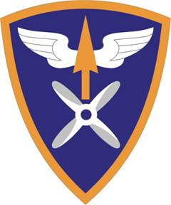 Arms of 110th Aviation Brigade, US Army
