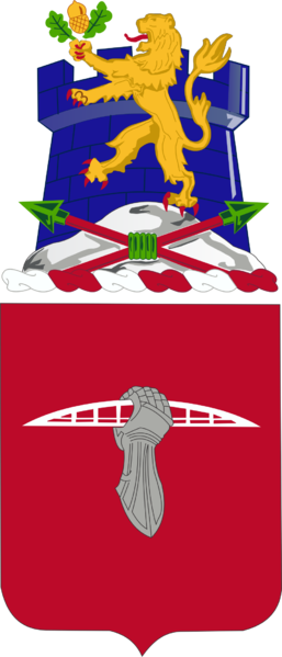 Coat of arms (crest) of the 17th Engineer Battalion, US Army