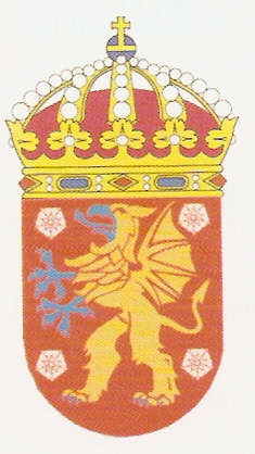 Coat of arms (crest) of the HMS Östergötland, Swedish Navy
