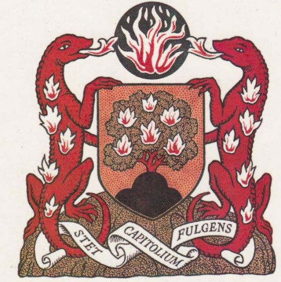Arms of North Thames Gas Board