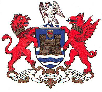Arms (crest) of Swansea