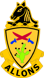 Arms of 11th Cavalry Regiment, US Army