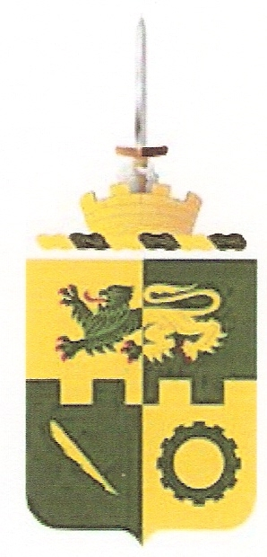 Coat of arms (crest) of the Special Troops Battalion, 1st Armoured Division, US Army