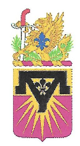 Arms of 554th Maintenance Battalion, US Army