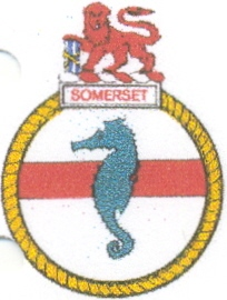 Coat of arms (crest) of the SAS Somerset, South African Navy