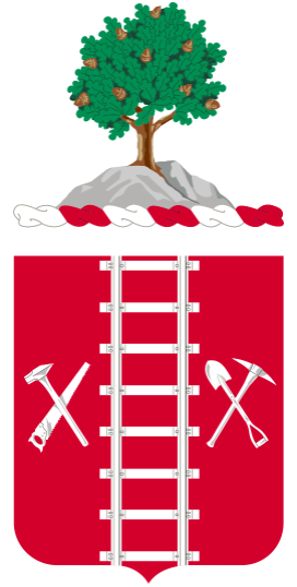 Coat of arms (crest) of the 21st Engineer Regiment, US Army