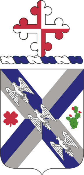 Coat of arms (crest) of the 115th Infantry Regiment, Maryland Army National Guard