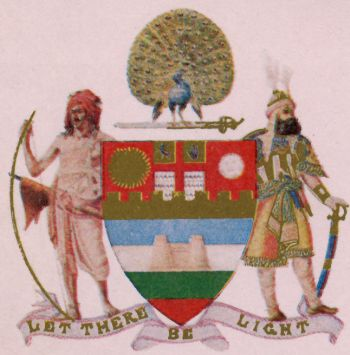 Arms of Mayo College (Ajmer)