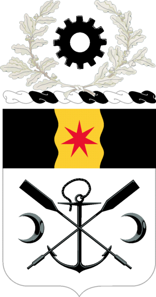Coat of arms (crest) of the 10th Engineer Battalion, US Army