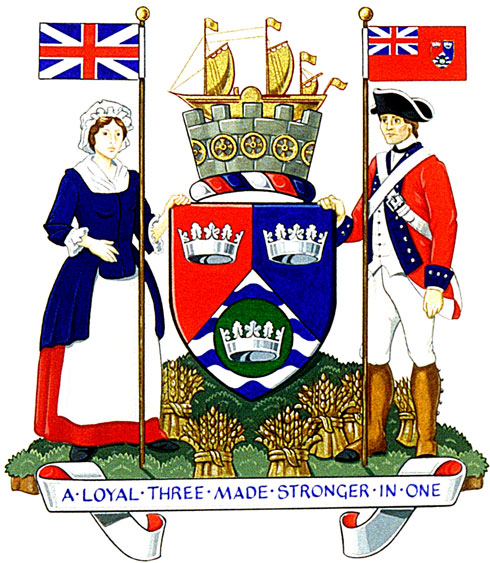 Arms (crest) of Loyalist Township