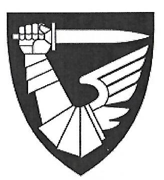 Coat of arms (crest) of the Army Battle Center / Weapons School, Norwegian Army