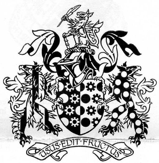 Arms of Society of Company and Commercial Accountants