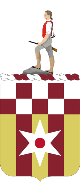 Coat of arms (crest) of the 63rd Support Battalion, US Army